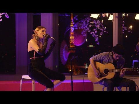"Alexandra Stan ""夜桜"" Special Live from YouTube Space Tokyo"