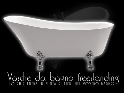 Vasca da bagno vasche da bagno da appoggio freestanding - Vasche da bagno rotonde ...