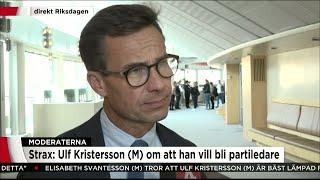 Ulf Kristersson (M):