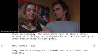 Before Sunrise - The Listening Booth | Screenplay Reading