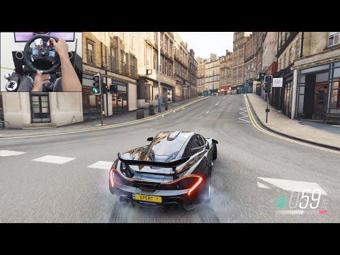 McLaren P1 – Forza Horizon 4 | Logitech g29 gameplay