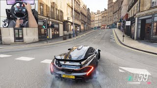 McLaren P1 - Forza Horizon 4 | Logitech g29 gameplay