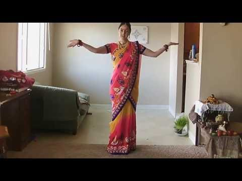 How to drape saree in Mermaid style