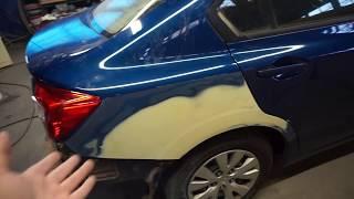 ОТ шпатлевки ДО полировки(покраска авто)-2 серия