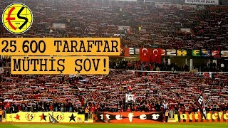 Rekor kıran Eskişehirspor taraftarı! [İşte o görüntüler]