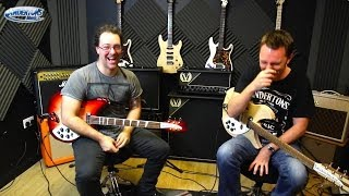 Rickenbacker 330 vs 360 Overview & Giggles!