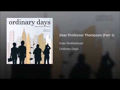 Ordinary Days- Full soundtrack