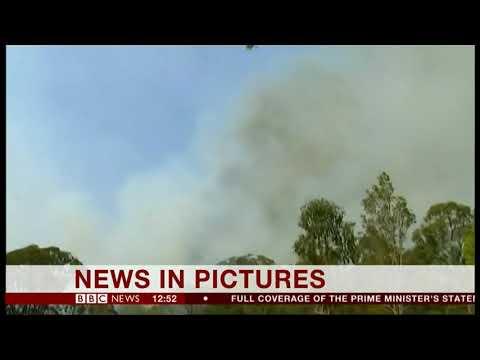 Extreme weather 2018 - 40 bush fires rage across Queensland (Australia) - BBC News - November 2018