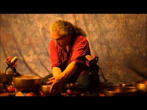 10 min Chakra Meditation Series~Note F~4th~Heart Chakra with Tibetan Singing Bowls~No Vocals