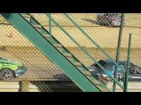 Moler Raceway Park 8-26-19 crazy compact heat race 2