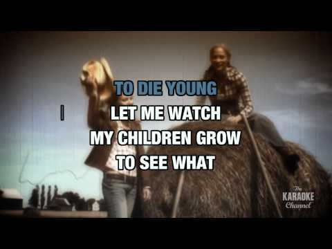 Till I'm Too Old To Die Young : Moe Bandy | Karaoke with Lyrics