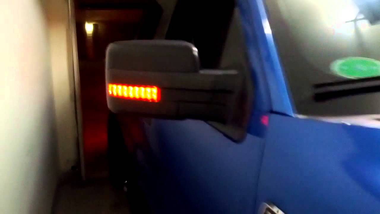 2012 F150 Reflector Marker Lights And Turn Signal Youtube