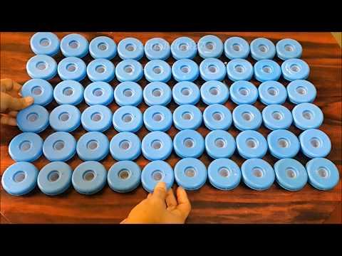 DIY#91 DOORMAT Using Recycled Bottle Caps