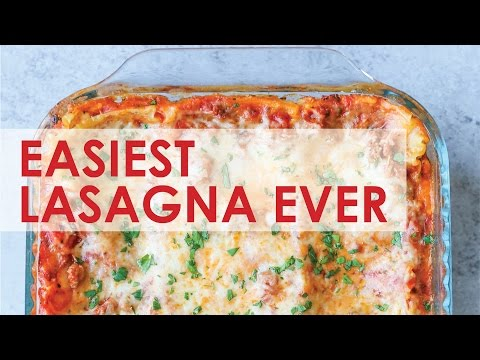 Easiest Lasagna Ever