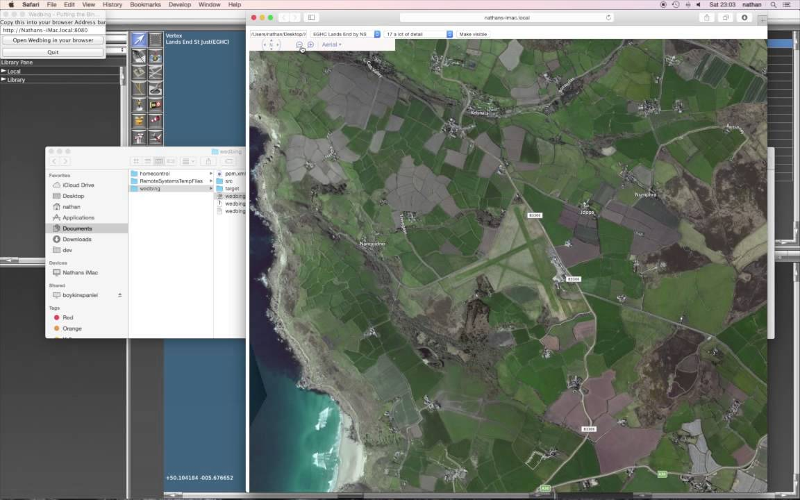 WED-O-Maker | Making Orthographic Bing maps available to