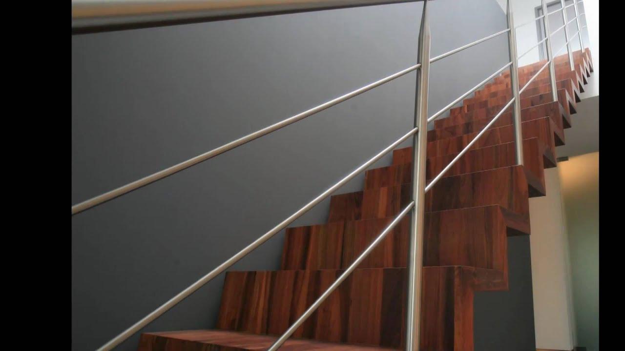 rvs balustrades en rvs trapleuningen met led verlichting zonder hakken of breken