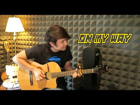 On My Way - Alan Walker, Sabrina Carpenter & Farruko - Nathan Fingerstyle Guitar Cover