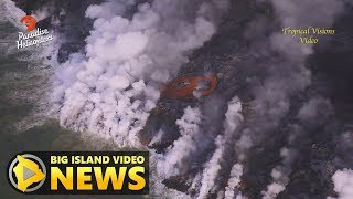 Hawaii Volcano Eruption Update - Tuesday Morning (July 10, 2018)