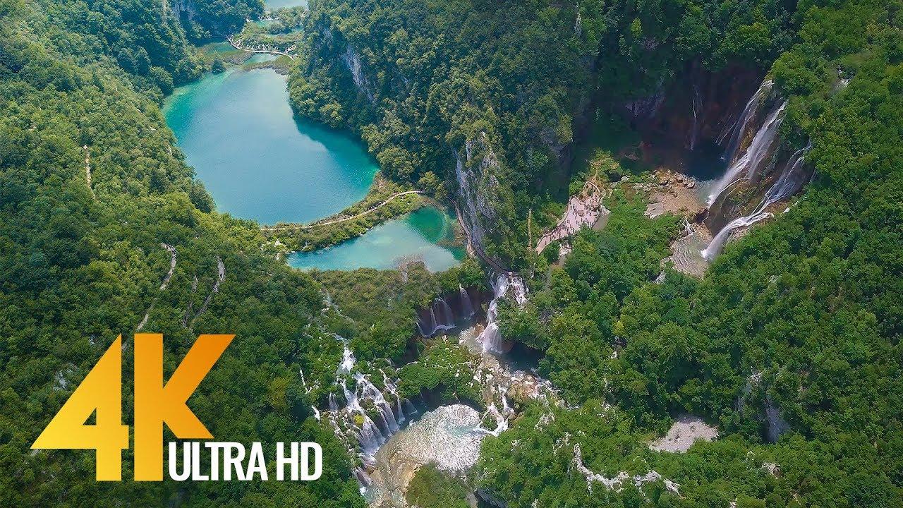 4K Drone Footage  Birds Eye View of Croatia Europe  3 Hour Ambient Drone Film