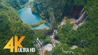 4K Drone Footage - Bird\'s Eye View of Croatia, Europe - 3 Hour Ambient Drone Film