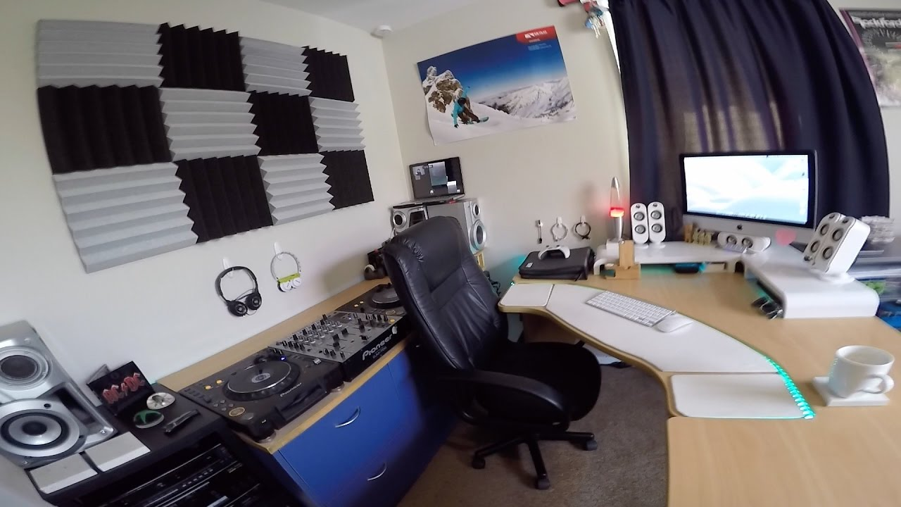 My Fully Customized Dj Studio You Editing Setup