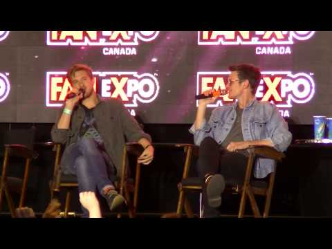 Matt Smith and Arthur Darvill Q&A at Fan Expo 2014