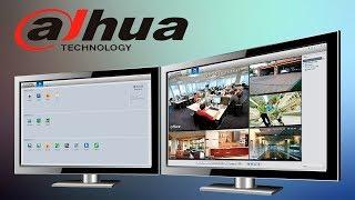 установка, добавление устройств и просмотр видео в приложении Dahua SmartPSS