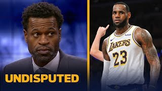 Stephen Jackson on LeBron's leadership criticism: 'Everyone's making stuff up' | NBA | UNDISPUTED