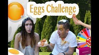 Короче говоря! Викторина Яйца челлендж! Яйцо об голову за неправильный ответ!