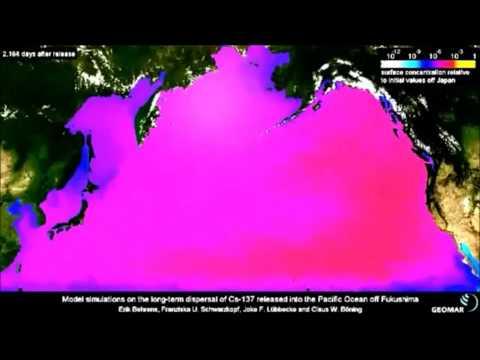Fukushima pacific ocean cesium 10-year projection 5-28-2013 | Organic Slant