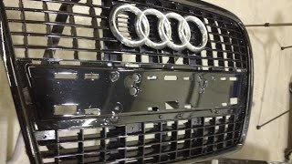 How to repaint your bumper/grill
