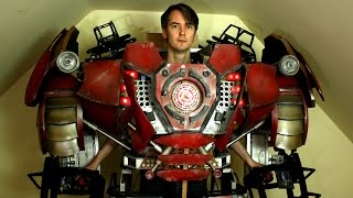 One of James Bruton's most viewed videos: XRobots - Iron Man Hulkbuster Cosplay Part 30, More Body Panels & Lights!
