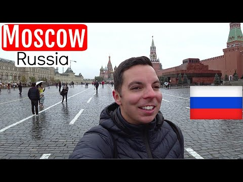 Russia Travel Moscow City Tour