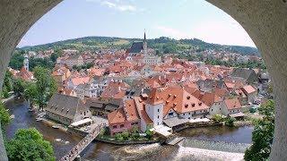 Krumau , Altstadt - Cesky Krumlov | Malerisches Stadt in Tschechien