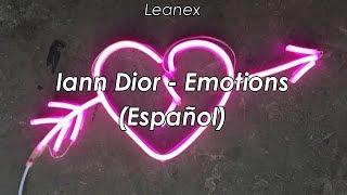 Iann dior - Emotions (Sub español)