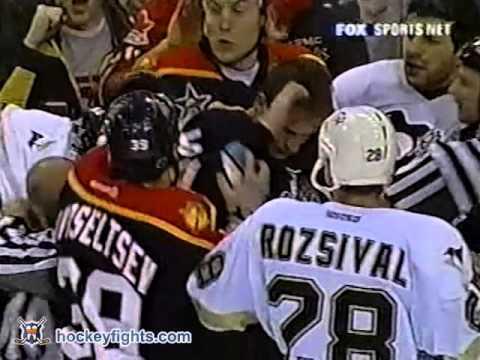 Brad Ference vs Mario Lemieux Feb 6, 2003