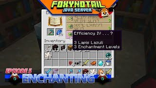 Minecraft | VILLAGERS & ENCHANTING | JAVA SMP [5]