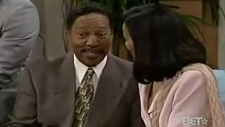 The Jamie Foxx Show Fancy's Parents Scene 1999