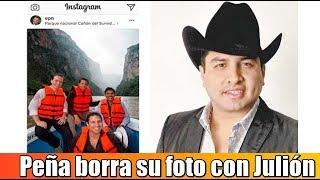 Peña Nieto borra de Instagram su foto con Julión Álvarez