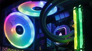 Custom White RGB RTX 2070 SUPER Gaming PC Build