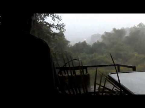 Hurricane Matthew hits Deltona Florida United States.