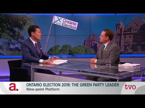 Ontario Election 2018: The Green Party Leader