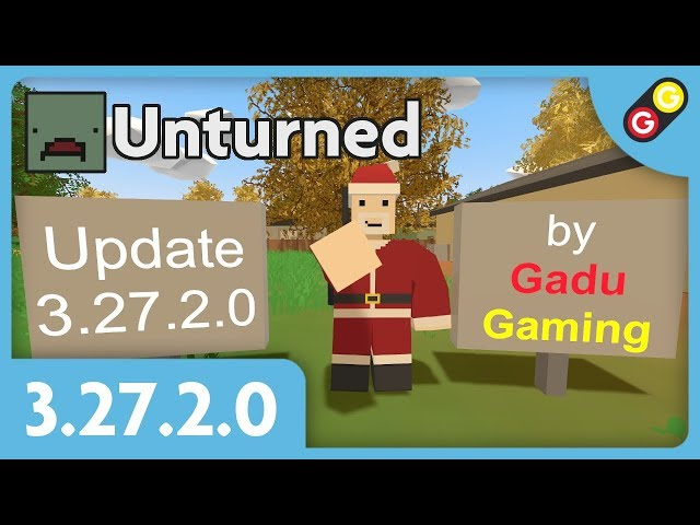 Unturned - Update 3.27.2.0 [FR]