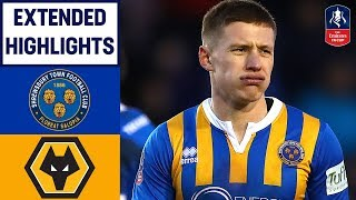 Wolves Come From Behind to Avoid MASSIVE Cupset! | Shrewsbury 2-2 Wolves | Emirates FA Cup 2018/19