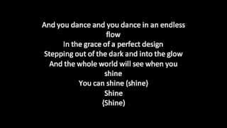 Barbie movie song: Shine lyrics on screen