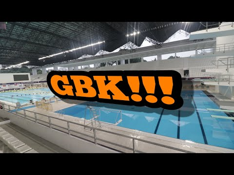 Aquatic Stadium GBK Setelah Renovasi - Road to Asian Games 2018
