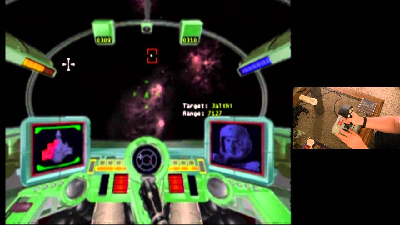 Super Wing Commander 3do Flightstick Pro Gameplay Demonstration