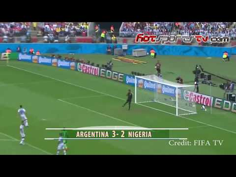 Highlights: 4 Times Nigeria Played Argentina at FIFA World Cup