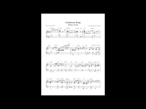 Christmas Song - David Benoit (Piano Solo) by Aldy Santos
