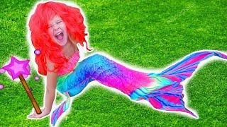 MERMAIDS Transformation  Mermaid ПРЕВРАЩЕНИЕ В РУСАЛКУ